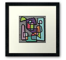 NaiveII Framed Print