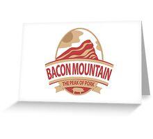 Bacon Mountain Greeting Card