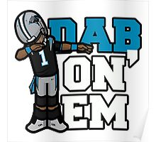 Cam Newton Defends Super Bowl Poster
