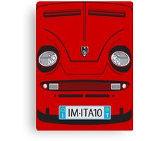 Little Italian Sports Car Canvas Print