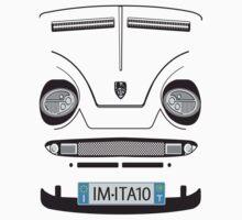 Little Italian Sports Car Kids Tee