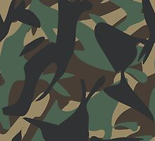 Woodland Camouflage by ARTPICSS