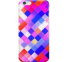Abstract Geometric Square Pattern iPhone Case/Skin