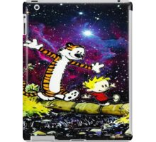 calvin and hobbes nebula iPad Case/Skin