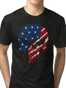 American Skull Tri-blend T-Shirt
