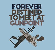 Meet at Gunpoint Womens Fitted T-Shirt
