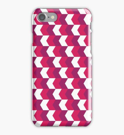Pink and Purple Arrows iPhone Case/Skin