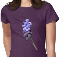 Grape Hyacinths Womens Fitted T-Shirt