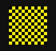 Checkered Black and Yellow Unisex T-Shirt