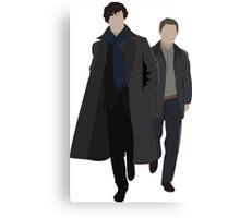 Sherlock and Watson Canvas Print