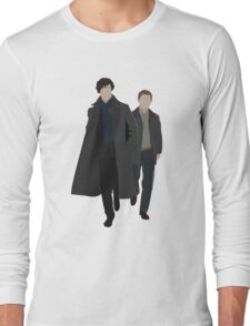 Sherlock and Watson Long Sleeve T-Shirt