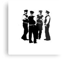 The Laughing Policemen Metal Print