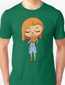 Girl with cookie Unisex T-Shirt