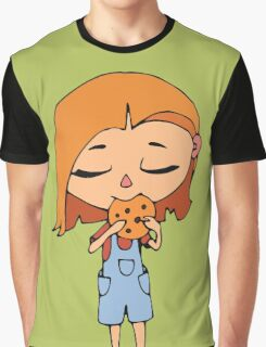 Girl with cookie Graphic T-Shirt