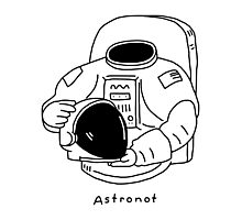 Astronot Photographic Print