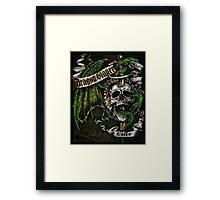 Dragon Slayer Elite Crest Framed Print