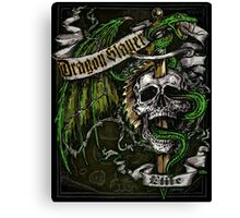 Dragon Slayer Elite Crest Canvas Print