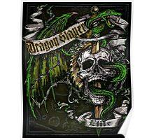 Dragon Slayer Elite Crest Poster