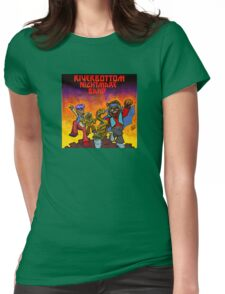 River Bottom Nightmare Band Womens Fitted T-Shirt