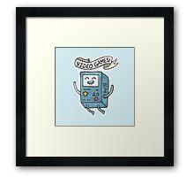 Video Games! Framed Print