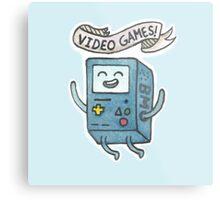 Video Games! Metal Print