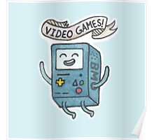 Video Games! Poster