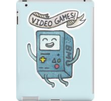 Video Games! iPad Case/Skin