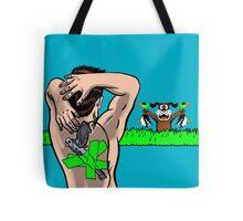 Duck Hard Tote Bag