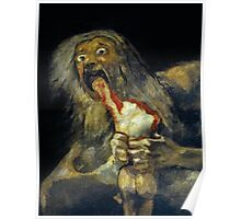 Goya, Saturn devouring his son Poster