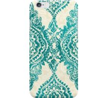 Blue frange iPhone Case/Skin