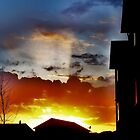 A Moscow Idaho Sunset. by trueblvr