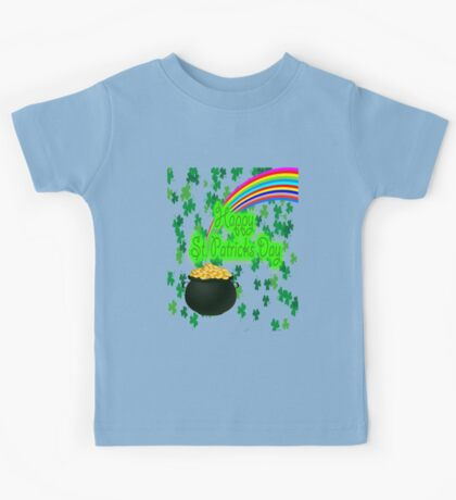 Happy St Patrick`s Day Kids Tee