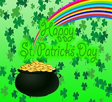 Happy St Patrick`s Day by JohnDSmith