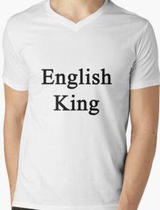 English King  Mens V-Neck T-Shirt