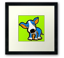 IrnBru English Bull Terrier Puppy  Framed Print