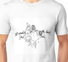 If Emeralds Fell in the Desert - Kakyoin (White) Unisex T-Shirt