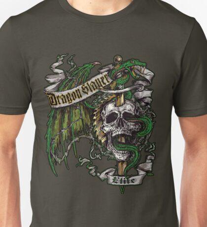 Dragon Slayer Elite Crest Unisex T-Shirt