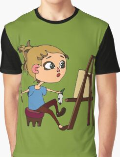 Artist at work Graphic T-Shirt