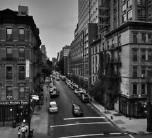Manhattan - Chelsea 002 BW by Lance Vaughn