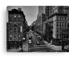Manhattan - Chelsea 002 BW Canvas Print