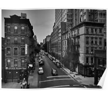 Manhattan - Chelsea 002 BW Poster