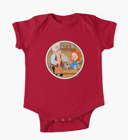 The Puppeteer and his doll  One Piece - Short Sleeve