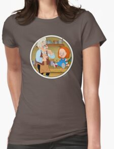 The Puppeteer and his doll  Womens Fitted T-Shirt