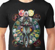 Fierce Deity Art Nouveau Link - Majora's Mask Unisex T-Shirt