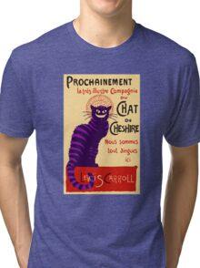 Chat de Cheshire Tri-blend T-Shirt