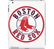 BOSTON RED SOX TEAM LOGO iPad Case/Skin