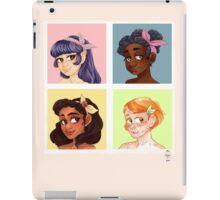 girl cube iPad Case/Skin