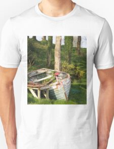 T'was a rough night last night Moville, Donegal, Ireland. Unisex T-Shirt
