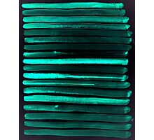 We Have Cold Winter Teal Dreams At Night Photographic Print