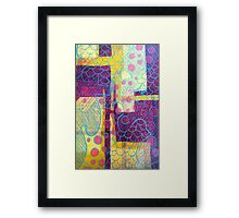 Bright Bubbles Framed Print